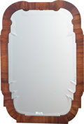 Furniture , A Chippendale-Style Mahogany-Veneered Mirror, first half 19th century. 28-1/4 inches high x 19-3/8 inches wide (71.8 x 49.2 ...