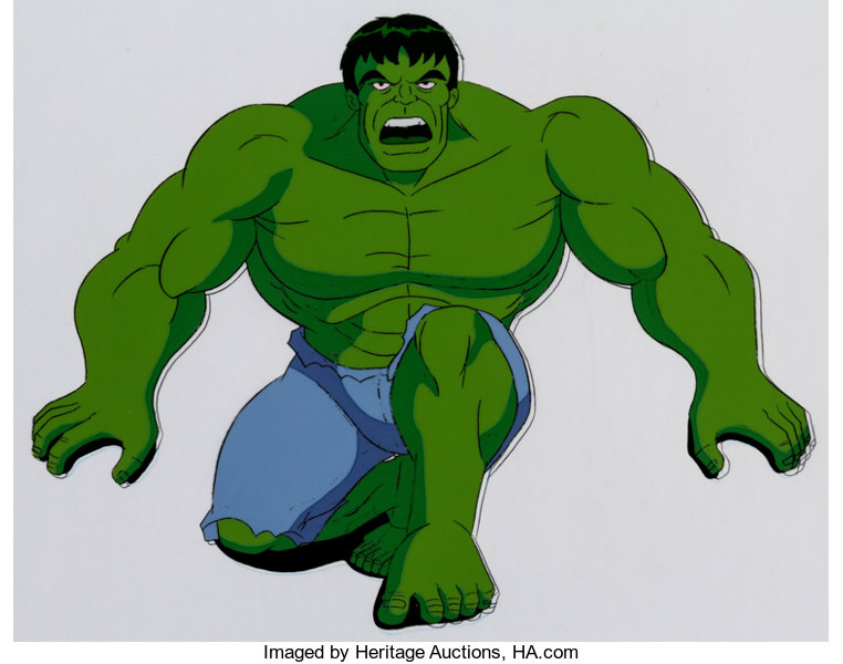 The Incredible Hulk Production Cel And Animation Drawing Marvel Lot 13223 Heritage Auctions The most important thing is to have fun and to practice! comics comic art animation art heritage auctions