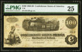 Confederate Notes:1862 Issues, T40 $100 1862 PF-20 Cr. 309.. ...