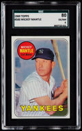 Baseball Cards:Singles (1960-1969), 1969 Topps Mickey Mantle #500 SGC 80 EX/NM 6....