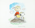 "Animation Art:Poster, Charles Schulz ""Charlie Brown's All Stars"" Peanuts Limited EditionLithograph Print #20/500 (Charles Schulz, 1993)...."