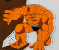 Animation Art:Production Cel, The Fantastic Four The Thing Production Cel & AnimationDrawing (Marvel Films, 1995).... (Total: 2 )