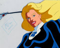 Animation Art:Production Cel, The Fantastic Four Sue Storm Production Cel & AnimationDrawing Group of 4 (Marvel Films, 1995).... (Total: 4 )