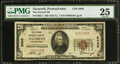 National Bank Notes:Pennsylvania, Nazareth, PA - $20 1929 Ty. 1 The Second NB Ch. # 5686. ...