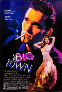 "The Big Town & Others Lot (Columbia, 1987). One Sheets (5) (25"" X 39"" & 27"" X 41""). Drama..."