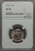 Washington Quarters, 1956 25C MS68 NGC....
