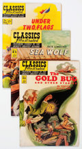 Golden Age (1938-1955):Classics Illustrated, Classics Illustrated #84-96 First Editions Group (Gilberton, 1951-52).... (Total: 13 Comic Books)