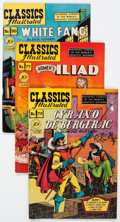 Golden Age (1938-1955):Classics Illustrated, Classics Illustrated First Editions Group of 6 (Gilberton, 1950-51).... (Total: 6 Comic Books)