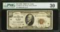 Small Size:Federal Reserve Bank Notes, Fr. 1860-H* $10 1929 Federal Reserve Bank Note. PMG Very Fine 30.. ...