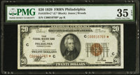 Fr. 1870-C* $20 1929 Federal Reserve Bank Note. PMG Choice Very Fine 35 EPQ