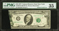 Error Notes:Foldovers, Fr. 2023-B $10 1977 Federal Reserve Note. PMG Choice Very Fine 35.....
