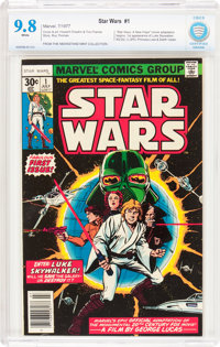 Star Wars #1 (Marvel, 1977) CBCS NM/MT 9.8 White pages