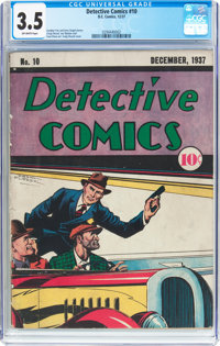 Detective Comics #10 (DC, 1937) CGC VG- 3.5 Off-white pages