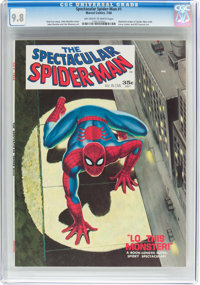 Spectacular Spider-Man #1 (Marvel, 1968) CGC NM/MT 9.8 Off-white to white pages