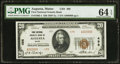 National Bank Notes:Maine, Augusta, ME - $20 1929 Ty. 1 First National Granite Bank Ch. # 498. ...