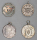 Silver Smalls:Other , A Group of Four Harvard Silver Medals, early 20th century. 1-5/8inches diameter (4.1 cm) (average). 4.28 troy ounces. ... (Total: 4Items)