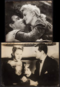 "Movie Posters:Hitchcock, Notorious & Other Lot (RKO, 1946). Photo (12"" X 15.5"") & Trimmed Photo (11"" X 13.5""). Hitchcock.. ... (Total: 2 Items)"