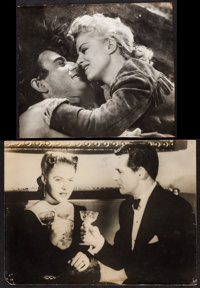 """Notorious & Other Lot (RKO, 1946). Photo (12"""" X 15.5"""") & Trimmed Photo (11"""" X 13.5""""). Hitchc..."""