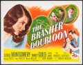 "Movie Posters:Crime, The Brasher Doubloon (20th Century Fox, 1946). Half Sheet (22"" X28""). Crime.. ..."