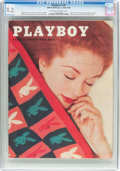 Magazines:Vintage, Playboy V3#5 (HMH Publishing, 1956) CGC NM- 9.2 Off-white to white pages....