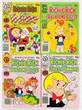 Bronze Age (1970-1979):Cartoon Character, Richie Rich and Casper Digest Comics Box Lot (Harvey, 1970s-80s)Condition: Average NM-....