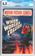 Golden Age (1938-1955):Science Fiction, Motion Picture Comics #110 When Worlds Collide (FawcettPublications, 1952) CGC FN+ 6.5 Cream to off-white pages....
