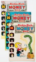 Bronze Age (1970-1979):Cartoon Character, Richie Rich Money World File Copies Box Lot (Harvey, 1972-82)Condition: Average NM-....