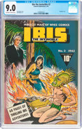 Golden Age (1938-1955):Superhero, Ibis The Invincible #2 (Fawcett Publications, 1943) CGC VF/NM 9.0Off-white to white pages....