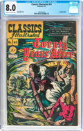 Golden Age (1938-1955):Classics Illustrated, Classics Illustrated #41 Twenty Years After - Original Edition(Gilberton, 1947) CGC VF 8.0 Cream to off-white pages....