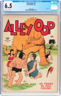 Golden Age (1938-1955):Adventure, Four Color #3 Alley Oop (Dell, 1942) CGC FN+ 6.5 Cream to off-white pages....