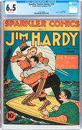 Golden Age (1938-1955):Crime, Sparkler Comics (first series 1 and 2 only) #1 (United Features Syndicate, 1940) CGC FN+ 6.5 Off-white pages....