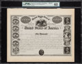 $50,000 United States Loan of 1841 Hessler X104I Proof PMG Choice Uncirculated 63