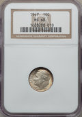 Roosevelt Dimes, 1947 10C MS68 NGC. NGC Census: (3/0). Mintage 121,520,000. ...