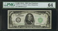 Small Size:Federal Reserve Notes, Fr. 2212-L $1,000 1934A Federal Reserve Note. PMG Choice Uncirculated 64.. ...