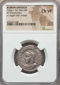 Ancients:Roman Provincial , Ancients: SYRIA. Antioch. Philip I (AD 244-249). BI tetradrachm.NGC VF....
