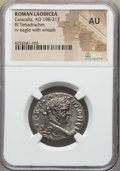 Ancients:Roman Provincial , Ancients: SYRIA. Laodicea. Caracalla (AD 198-217). BI tetradrachm.NGC AU....