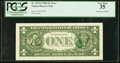 Error Notes:Third Printing on Reverse, Fr. 1913-F $1 1985 Federal Reserve Note. PCGS Very Fine 35.. ...