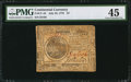 Colonial Notes:Continental Congress Issues, Continental Currency July 22, 1776 $7 PMG Choice Extremely Fine45.. ...