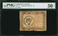 Colonial Notes:Continental Congress Issues, Continental Currency September 26, 1778 $8 PMG About Uncirculated50 Net.. ...