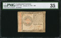 Colonial Notes:Continental Congress Issues, Continental Currency January 14, 1779 $80 PMG Choice Very Fine 35.....