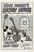 Memorabilia:Disney, Mickey Mouse One Sheet Movie Posters Group of 2 (Walt Disney, 1974). ... (Total: 2 Items)