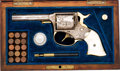 Handguns:Double Action Revolver, Cased & Engraved Remington Double Action Revolver....