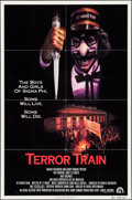"""Movie Posters:Horror, Terror Train & Others Lot (20th Century Fox, 1980). One Sheets (2) (27"""" X 41""""), Insert (14"""" X 36""""), & Program (20 Pages, 9"""" ... (Total: 4 Items)"""