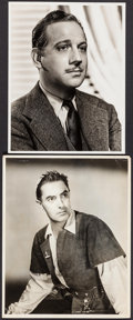 """Movie Posters:Miscellaneous, Tyrone Power in The Black Rose & Other Lot (20th Century Fox, 1950). Portrait Photos (2) (10"""" X 13"""" & 11"""" X 14""""). Miscellane... (Total: 2 Items)"""