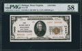 National Bank Notes:West Virginia, Philippi, WV - $20 1929 Ty. 2 First NB Ch. # 14053. ...