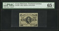 Fractional Currency:Third Issue, Fr. 1238 5¢ Third Issue PMG Gem Uncirculated 65 EPQ.. ...