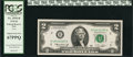 Error Notes:Mismatched Prefix Letters, Fr. 1935-B $2 1976 Federal Reserve Note. PCGS Superb Gem 67PPQ.....