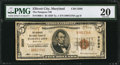 National Bank Notes:Maryland, Ellicott City, MD - $5 1929 Ty. 1 The Patapsco NB Ch. # 3585. ...