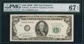 Small Size:Federal Reserve Notes, Fr. 2162-L $100 1950E Federal Reserve Note. PMG Superb Gem Uncirculated 67 EPQ.. ...