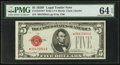 Small Size:Legal Tender Notes, Fr. 1531* $5 1928F Wide I Legal Tender Note. PMG Choice Uncirculated 64 EPQ.. ...